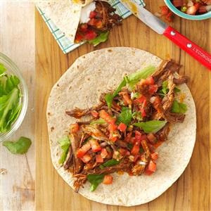 Mexican Shredded Beef Wraps Recipe