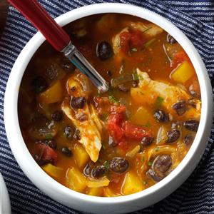 Black Bean & Pumpkin Chili Recipe