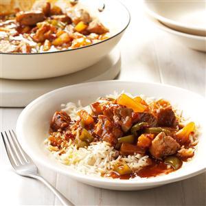 Tropical Sweet and Spicy Pork Tenderloin Recipe