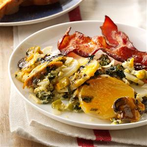 Overnight Vegetable & Egg Breakfast Recipe