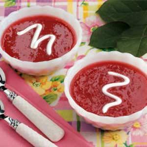 Spiced Rhubarb Soup Recipe