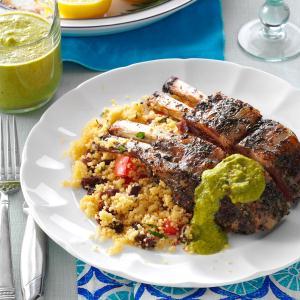Couscous Salad with Olives & Raisins Recipe