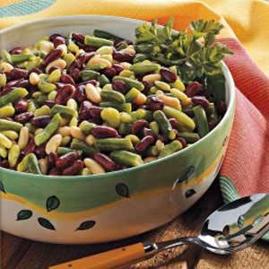 Dijon Four-Bean Salad Recipe