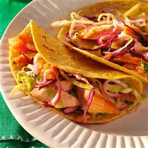 Grilled Chipotle Salmon Tacos Recipe