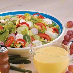 Honey-Mustard Salad Dressing