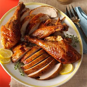 Honey-Citrus Glazed Turkey Recipe