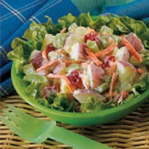 Crunchy Potato Salad Recipe