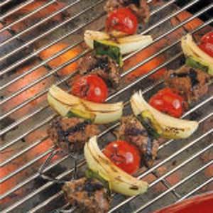 Greek Lamb Kabobs Recipe