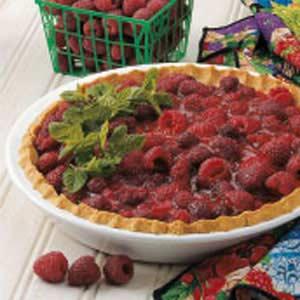 Raspberry Pie with Oat Crust Recipe