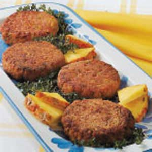 No-Fuss Ham Patties Recipe