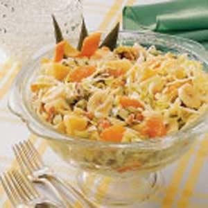Tropical Coleslaw Recipe