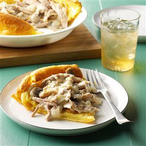 Turkey Puff Pancake Recipe