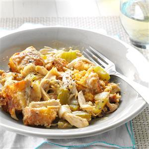 Chicken Corn Bread Casserole Recipe