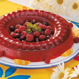 Cran-Raspberry Sherbet Mold Recipe