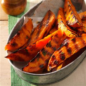 Grilled Lime-Balsamic Sweet Potatoes Recipe