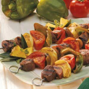 Mixed Grill Kabobs Recipe