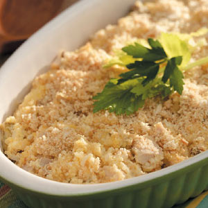 Rice and Chicken Bake Recipe
