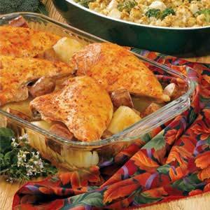 Sausage 'N' Chicken Casserole Recipe