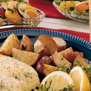 Lemon Roasted Red Potatoes Recipe