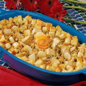 Turkey Wild Rice Dish Recipe