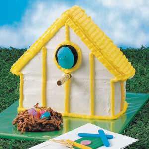 Birdhouse Cake Recipe