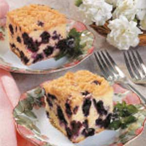 Moist Blueberry Buckle Recipe