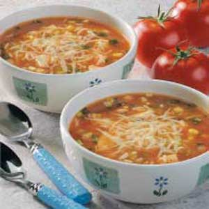 Quick and Spicy Chicken Rice Soup Recipe
