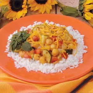 Garbanzo Beans 'N' Rice Recipe