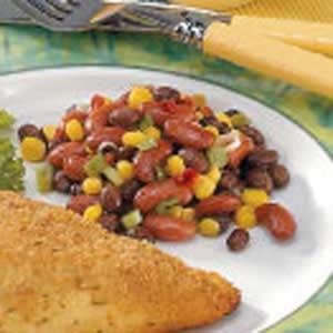 Colorful Bean Salad Recipe