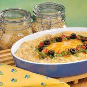 Southwestern Rice Bake Recipe