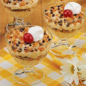 Chocolate 'N' Toffee Rice Pudding Recipe