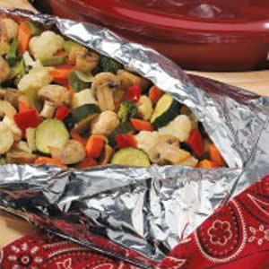 Grilled Veggie Mix Recipe