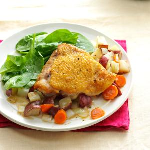 Easy Chicken and Potatoes Recipe
