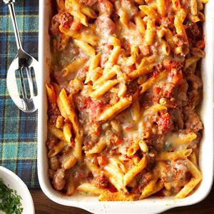 Pasta Fagioli al Forno Recipe