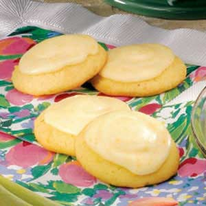 Frosted Orange Cookies Recipe