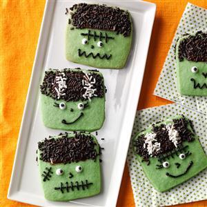 Freaky Frankenstein Cookies Recipe