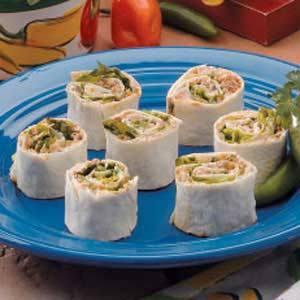 Taco Pinwheels Recipe