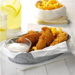 Crispy Sage Chicken Tenders Recipe