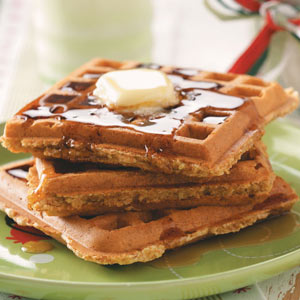 Whole-Grain Waffle Mix Recipe