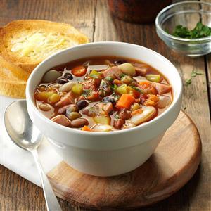 Provencal Ham & Bean Soup Recipe