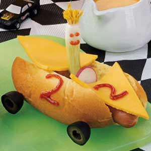 Hot Dog Race Cars Recipe