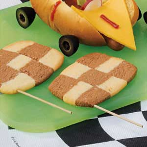 Checkered Flag Cookies Recipe
