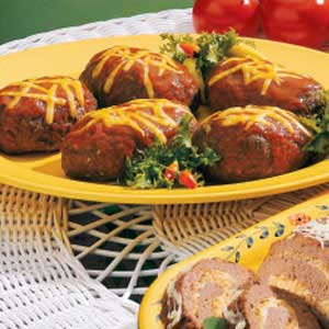 Spicy Meat Loaves Recipe