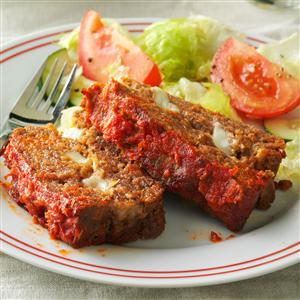 String Cheese Meat Loaf Recipe