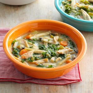 Homey Chicken Noodle Soup Recipe