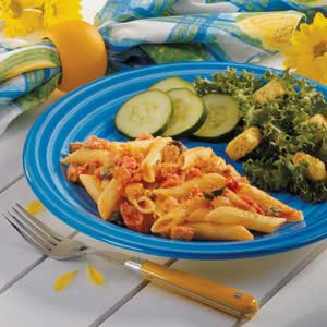 Stovetop Ham and Penne Recipe