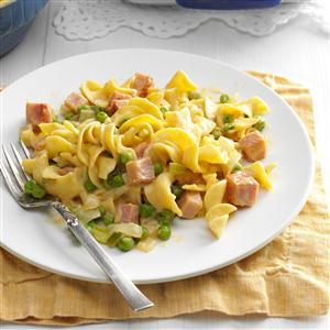 Ham Noodle Dinner Recipe