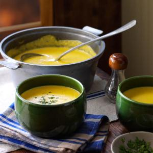 Cheddar, Corn & Potato Chowder Recipe