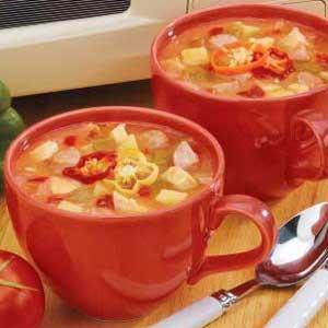 Sausage Chicken Soup Recipe