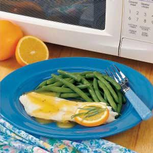 Saucy Orange Roughy Recipe